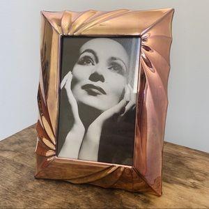 Rose Gold Vintage Antique Frame
